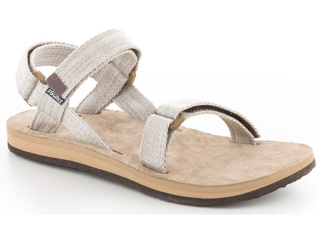 SOURCE Leather Urban Sandalen Dames, canvas